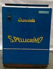 """ORIGINALE Anni '70 GHIACCIAIA """" SAN PELLEGRINO """" Aranciata Chinotto (COCA-COLA)"""