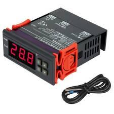 12V 10A Digital LCD Temperatur regler Thermostat -40 ℃ bis 120 ℃ mit Sensor