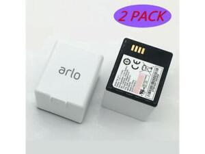 2 x Genuine OEM Rechargeable Battery ARLO PRO, PRO 2, LIGHT Camera VMA4400