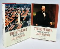 The Governor: The Life and Legacy of Leland Stanford, Set Of 2 Books Hardcover