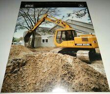 John Deere 490E Excavator Dealer/'s Brochure DCPA2