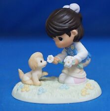 Girl Scout Daisies Have a Sharing Heart Precious Moments Figure Hispanic 104052