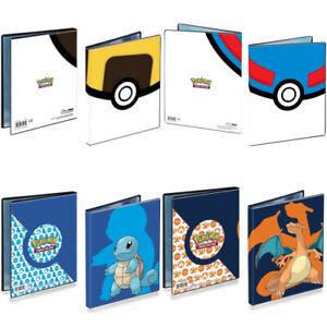Pokemon Card Folder Ultra Pro - 4-Pocket Portfolio - Holds 80 Pokemon Cards (A5)