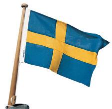 Watski Gast Flagge Schweden 19x30cm,Polyester,hochwertige Qualität