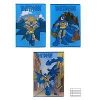 Cuaderno Paquete 10 Piezas Maxi Cuaderno A4 DC Comics Batman Forro B 3373
