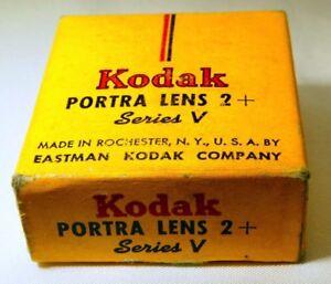 Kodak Series V +2 Portraiture  Drop in Lens Filter     free shipping worldwide