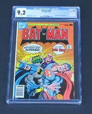 Batman 293 CGC 9.2 DC Comics 1977 Superman