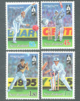 New Zealand 1994 Cricket Sports Stamps set 4v MNH