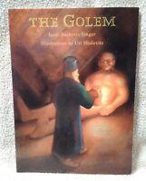 THE GOLEM Isaac Bashevis Singer BOOK Paperback Uri Shulevitz 1996 Sunburst FSG