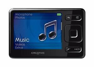 Creative ZEN MX Black 8GB MP3 Media Player with FM Radio & SDHC Memory Card Slot