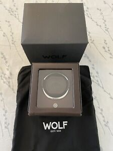 Wolf Cub Module 1.8 Watch Winder With Cover Single Box Automatic BNIB 461106