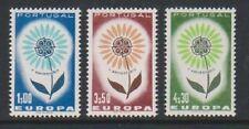 Portogallo - 1964, Europa Set-Gomma integra, non linguellato-SG 1249/51