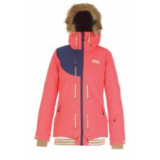 "​PICTURE ORGANIC WOMEN'S ""COOLER"" 10K WINTER JACKET (NEON CORAL) SMALL"