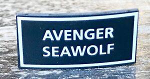 BREITLING Avenger Seawolf Plaque Display Chronograph Steel Gold Chrono Original/