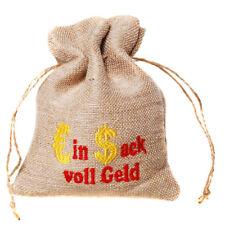 Geldsack EIN SACK VOLL GELD Geldbeutel Jute Beutel Sparbüchse Geschenk
