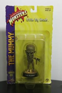 THE MUMMY LITTLE BIG HEADS Universal Studios Monsters Series 1 1998 Sideshow NEW