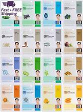 Paquete De Mascarillas Faciales De Colágeno Vitamina E Rostro Completo, 16 Pzas
