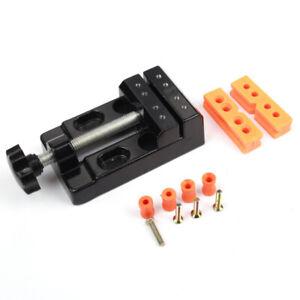 Mini Kleine Schraubstock Fester Stand Modellbau Uhrmacher Schraubzwinge DHL