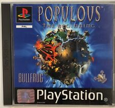 PlayStation 1 POPULOUS THE BEGINNING PS1 Pal