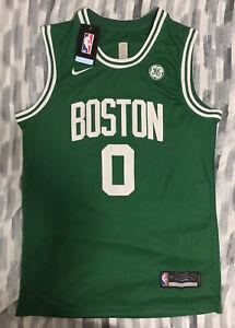 Jayson Tatum Boston Celtics Jersey Stitched Size Large NWT NEW