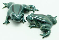 Figurine Miniature Animal Ceramic Statue 2 Frog - Saf029
