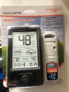 AcuRite Digital Weather Forecaster 00510 Wireless Easy Mount Sensor New Sealed