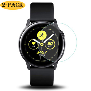 2x Samsung Galaxy Watch Active / Active 2 40mm Panzerfolie Display Schutz Folie