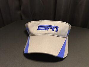 ESPN Adjustable Visor Blue Gray