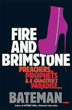 Fire and Brimstone,, Bateman,New Book mon0000030364