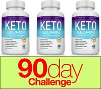 Keto Burn Diet Pills 1200 MG - Advanced Ketosis Weight Loss Supplement 3 Months