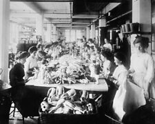 Schoenhut Doll Factory Workers Assembling Philadelphia ca.1919 View 8x10 photo