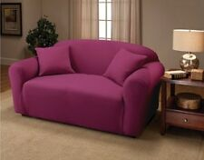 JERSEY STRETCH COVER(LOVESEAT/SOFA/CHAIR/RECLINER)--AQUA--PICK FROM MANY COLORS