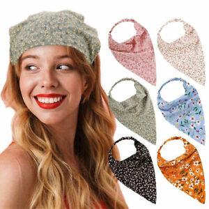 Bohemian Women Head Bandana Head Scarf Elastic Hair Band Scarf Headband Kerchief