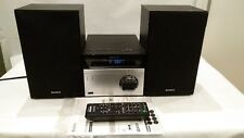 Sony CMT-S20B Mini Audio Shelf System CD Player USB MP3  Bluetooth Aux Remote