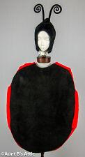 Ladybug Costume Unisex Faux Fur/Foam 3 Piece Novelty Costume