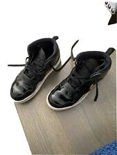 jordan boys shoes size 3y *black Patent Leather*