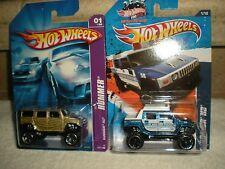Classic Hot Wheels Hummer H2 Lot (2) 1 - El Segundo Police Diecast 1:64