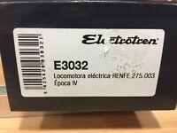 Electrotren,LOCOMOTORA H0 electrica RENFE 275.00,epoca IV,ref.E3032,escala 1/87