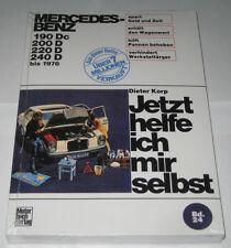 Reparaturanleitung Mercedes /8 W115 + W110 Diesel 190c / 200 / 220 / 240 D