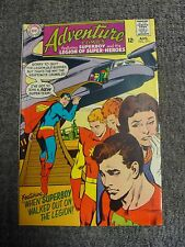 """Adventure Comics #371 (1968) """"When Superboy Walked Out On the Legion!"""" * Dc *"""