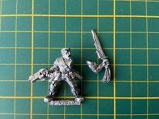 Warhammer 40K Astra Militarum Catachan Officer Sly Marbo Metal Rare Used OOP