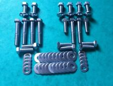 VW Beetle 1949-67 Towel Rail US Spec Bumper STAINLESS Fitting Bolts Volkswagen