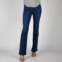 Levi's 815 Curvy Bootcut Dark Damen blau stretch jeans DE 34 W26 L32