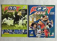 Lot 2 Album Panini Foot 2008 + 2010 / Vierge, Vide