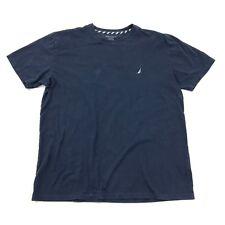 Nautica Sleepwear Shirt Adult Short Sleeve Nightshirt Sleep Pjs Pajamas Tee mens