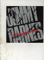 """JIMMY BARNES Ride the Night Away NEW ZEALAND 7"""" w/PS HARD ROCK Cold Chisel"""