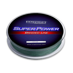 KastKing SuperPower Braid Fishing Line Carp Fishing Superline 150Yds 8LB 0.08mm