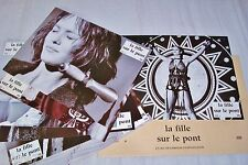 vanessa paradis LA FILLE SUR LE PONT ! jeu  photos cinema  lobby card