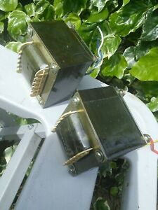 300B Output Transformers Single Ended.