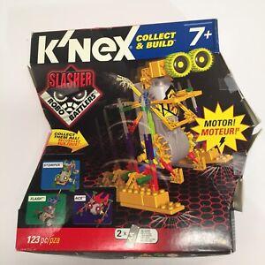 K'nex Collect & Build 12163/71186 Slasher Robo Battlers 123 Pc